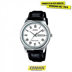 Orologio CASIO MTP-V006L-7 da uomo cinturino in vera pelle
