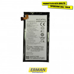 BATTERIA originale TLp025C2 / TLp025C1 PER ALCATEL OT-5056D 5056D POP 4 PLUS