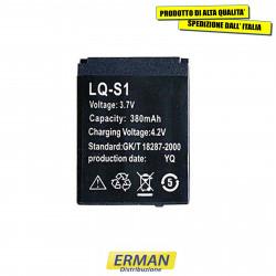 BATTERIA LQ-S1 per smartwatch DZ09 QN01 FYM-M9 V8 X6 E15 W8A1