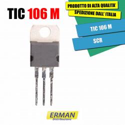 TIC 106 M SCR 600V 5A TO220