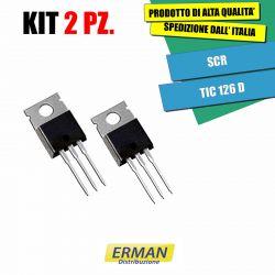 KIT 2 PZ. TIC 126D SCR 400V...