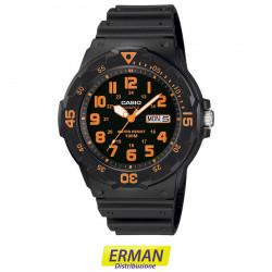 Orologio casio mrw-200h-4 cinturino in resina sportivo con calendario