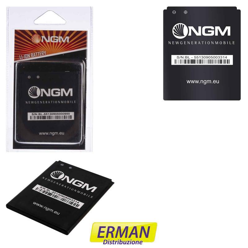 Batteria originale NGM BL-50 per Soap Qwerty, Vanity Young