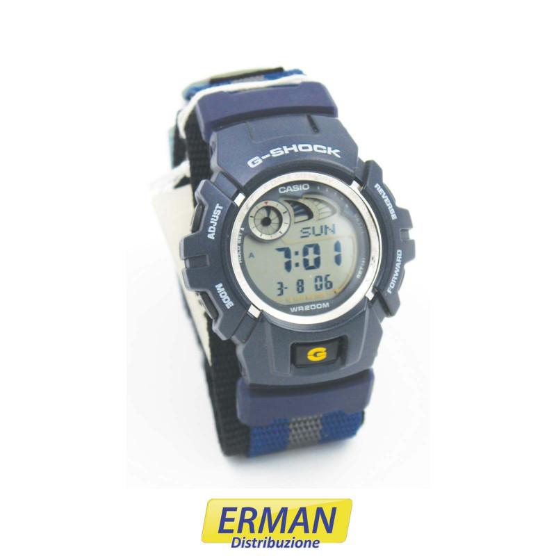 Orologio Casio digitale G-SHOCK G-2900V-2VER con e-Data e cinturino in tessuto