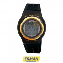 Orologio Casio w-e11g-1avef digitale cinturino in resina crono timer e sveglia