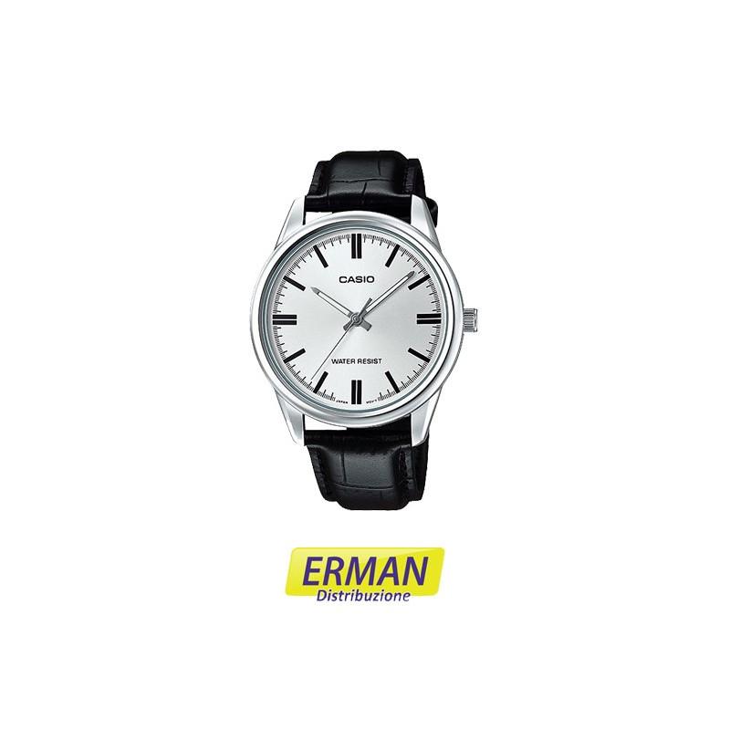 rivenditore di vendita 67eda 46f4e Orologio casio mtp-1374d-2 quarzo acciaio cronografo blu analogico da polso