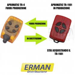 TELECOMANDO RADIOCOMANDO APRIMATIC TR-4 SOSTITUITO DA TM4 TR 1101