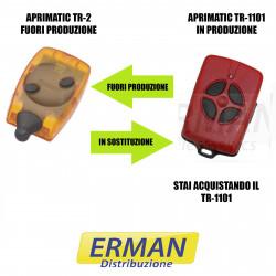 TELECOMANDO RADIOCOMANDO APRIMATIC TR-2 SOSTITUITO DA TM4 TR 1101